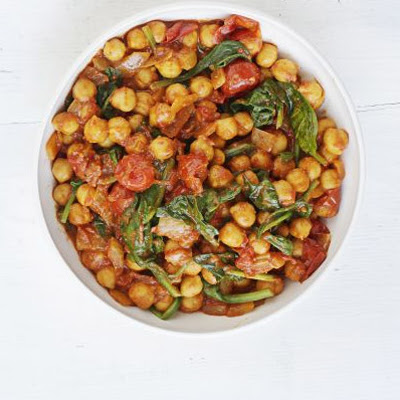 Spinach & Chickpea Curry