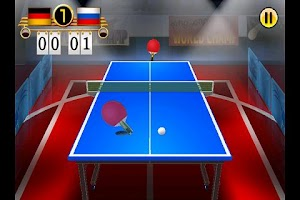 Screenshot of Ping Pong WORLD CHAMP