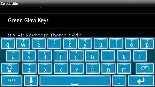 【免費個人化App】Blue Chrome 2 HD Keyboard Skin-APP點子