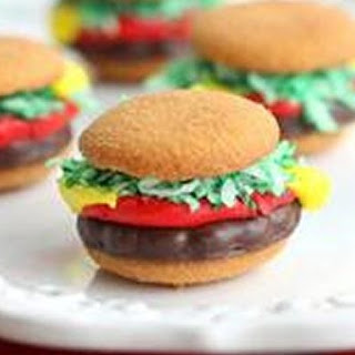 Mini Burger Cookies