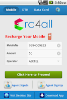 Screenshot of Recharge Mobile,DTH,DataCard.