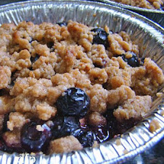 Individual Blueberry or Apple Crisp