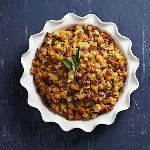 Apple, Sage, and Sausage Stuffing