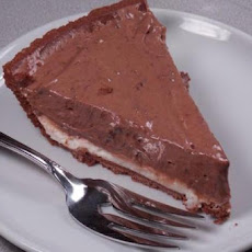 Easy Chocolate Cream Cheese Layer Pie
