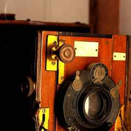Old school camera, would takes five minutes to capture one photo. by Matthew Carter - Artistic Objects Antiques
