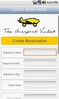 Screenshot of Airport Valet