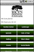Screenshot of Rice's Nursery & Landscaping