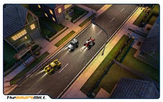 Screenshot of Mini Motor Racing Xperia