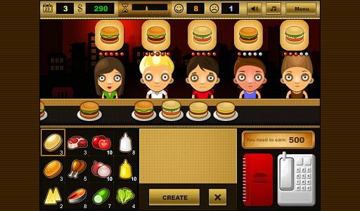 Burger Bar - screenshot