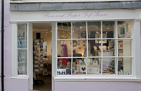 Prim and Proper Gift House in Totnes
