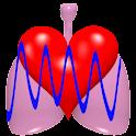 CardioRespiratory Monitor Free icon