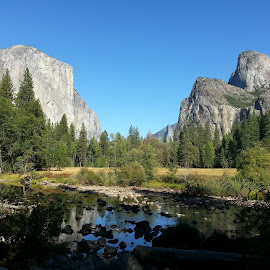 Nature's Magesty by Jane Singer - Landscapes Mountains & Hills ( yosemite )
