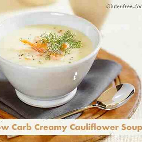 Low Carb Creamy Cauliflower Soup