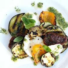 Griddled Vegetable & Mozzarella Salad