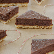 Chocolate Truffle Shortbread Bars
