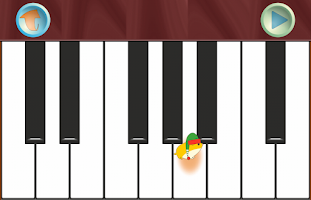 Screenshot of Kids' Christmas Piano Free
