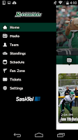 Screenshot of SaskTel Rider App