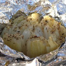 Grilled Onion Bloom