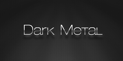 Screenshot of (FREE) Dark Metal GO Theme