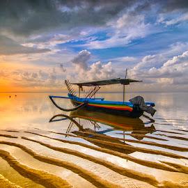by Dida Melana - Transportation Boats ( golden hour, sunset, sunrise )