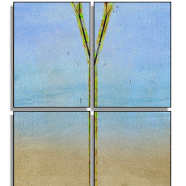 Ooops by Allen Crenshaw - Painting All Painting ( abstract, quad, tree, art, painting )
