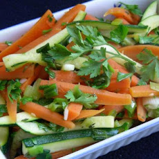 Zucchini and Carrots with Garden Herbs