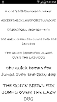 Screenshot of Fonts for FlipFont #17