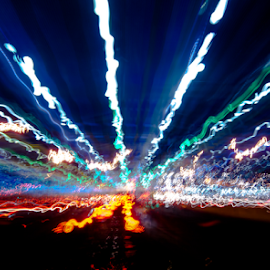 Electrifying by Elf's Photography - Abstract Light Painting