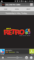 Screenshot of 103.5 RETRO CEBU