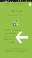 Screenshot of Touchless Notifications Free