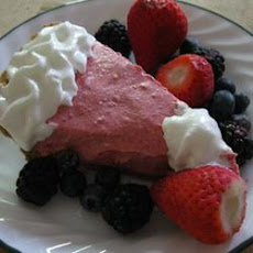 Cranberry Mousse Pie