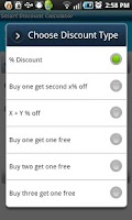 Screenshot of Smart Discount Calculator