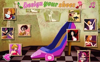 Screenshot of Design Your Shoes