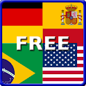 World Cup Flags Free icon