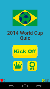 2014 World Cup Quiz - screenshot