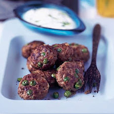 Spicy Lamb Patties