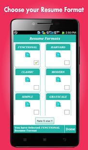 app smart resume builder cv free apk for kindle