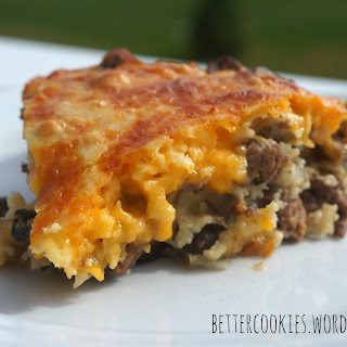 Immaculately Yummy Cheeseburger Pie