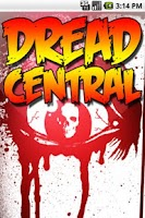 Screenshot of Dread Central News
