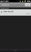 Screenshot of Contraceptive pill