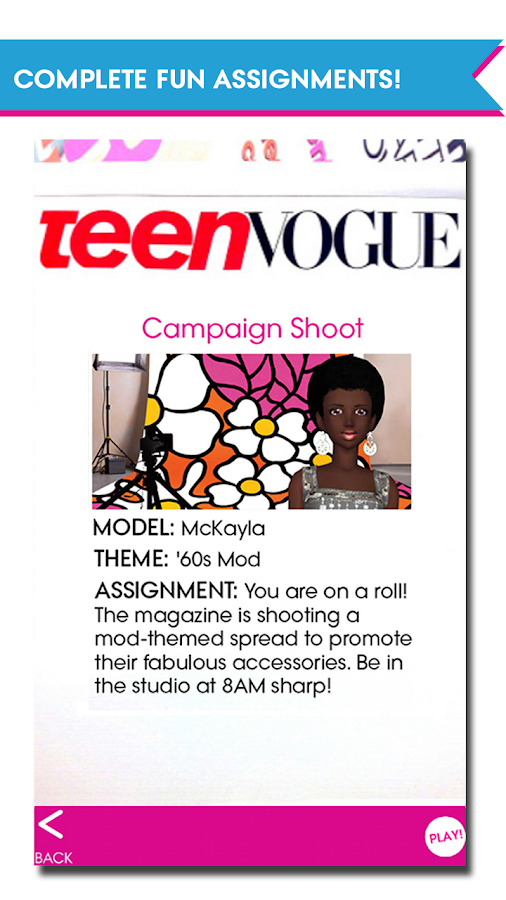 Teen Vogue Me Girl Screenshot 1