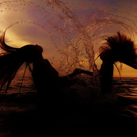 I Whip My Hair by Robert Marrel Dela Vega - Instagram & Mobile Android ( sunset, seascapes, travel, ladscapes, mobile )