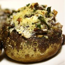The Best Stuffed Mushrooms