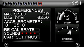 Screenshot of GT-R dash