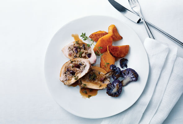 Mediterranean-Style Stuffed Chicken Breasts
