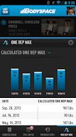 Screenshot of BodySpace - Social Fitness App