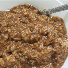 Instant Chocolate Oatmeal With Cinnamon