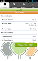 Screenshot of Countryside Bank Mobile