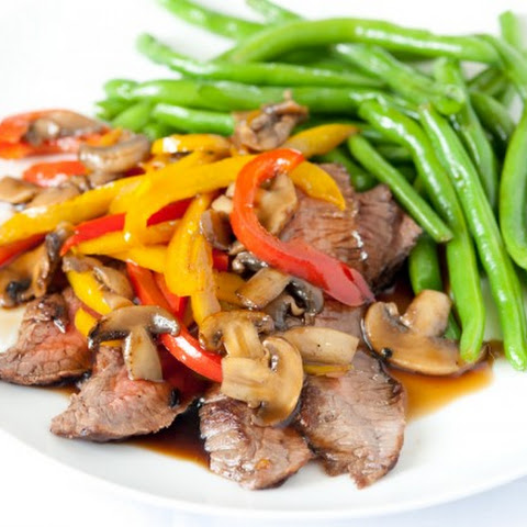 Steak with Teriyaki Sauce
