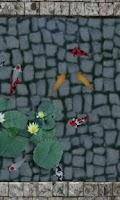 Screenshot of Koi Fish Pond 3D Livewallpaper